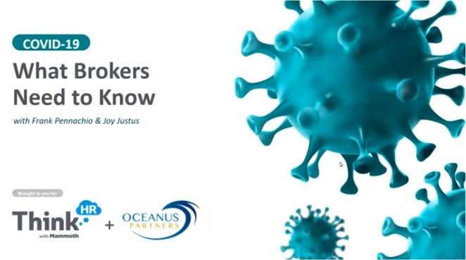 COVID19 What Brokers Need to Know Webinar