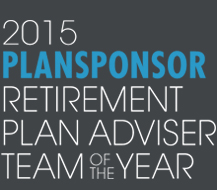 2015 plan sponsor retirement plan advisor team of the year logo