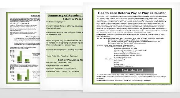 Will you be hit with penalties due to health care reform in 2014? In 2014,  some employers may have to pay a penalty if their health plan doesn't meet  ...