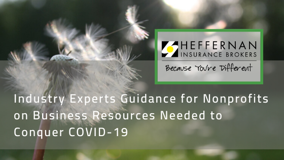Industry experts guidance for nonprofits on business resources needed to conquer COVID-19