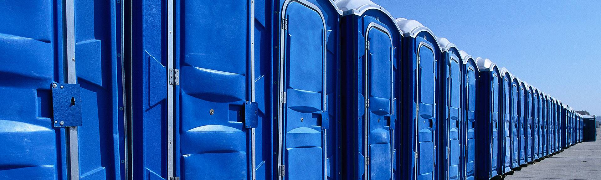 portable restroom: portapotties