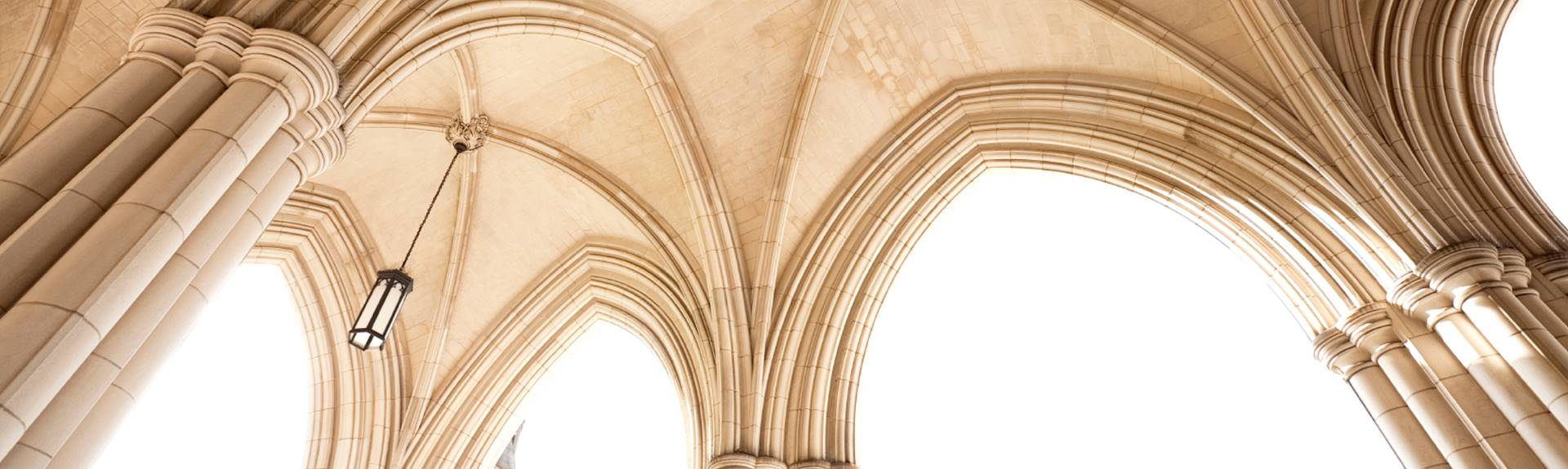 Gothic ceiling arches